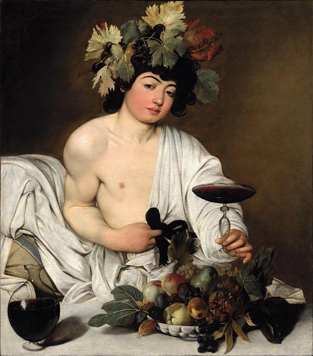 Bacchus. Michelangelo Merisi da Caravaggio