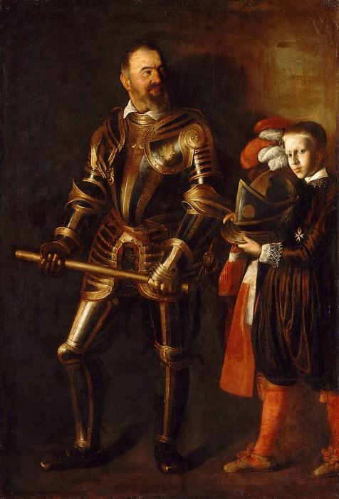 Portrait of Alof de Wignacourt and his Page. Michelangelo Merisi da Caravaggio