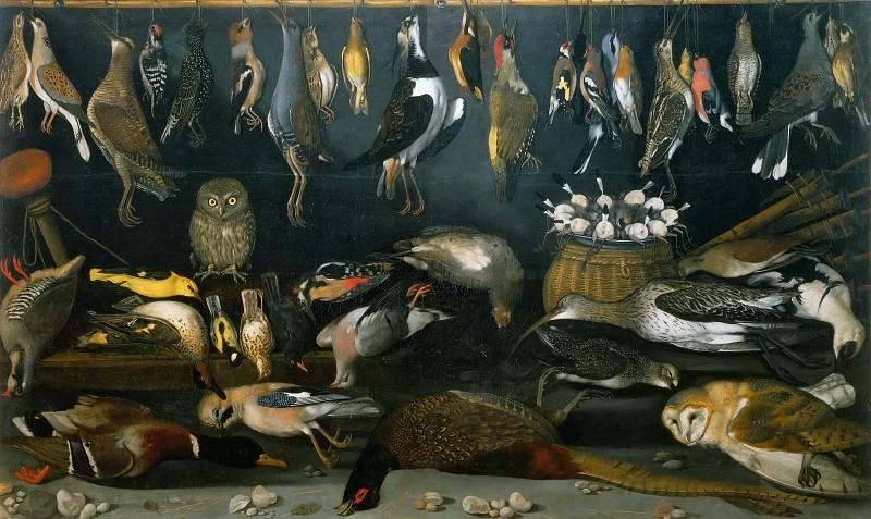 Still Life with Birds (school). Michelangelo Merisi da Caravaggio