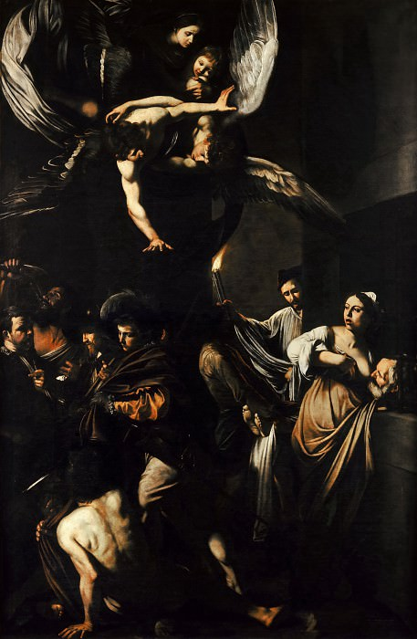 Seven Works of Mercy. Michelangelo Merisi da Caravaggio