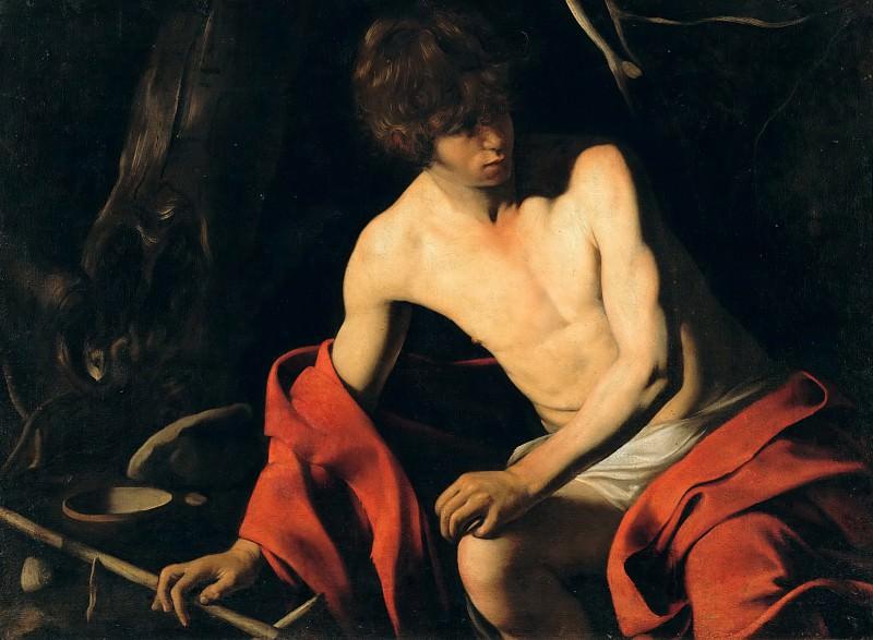 Иоанн Креcтитель. Микеланджело Меризи да Караваджо