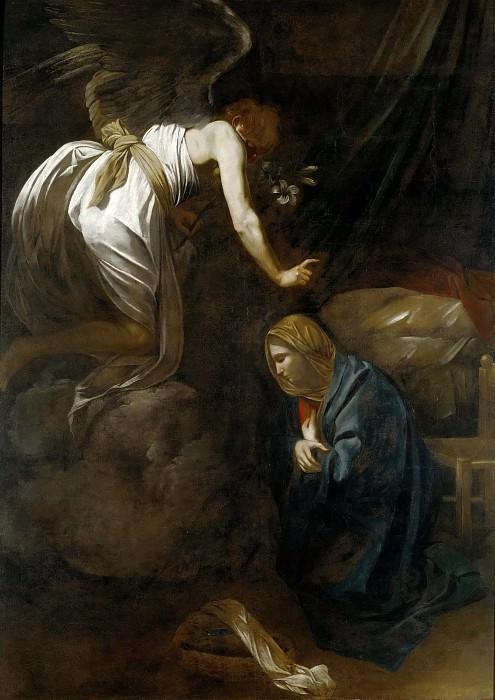 Annunciation. Michelangelo Merisi da Caravaggio