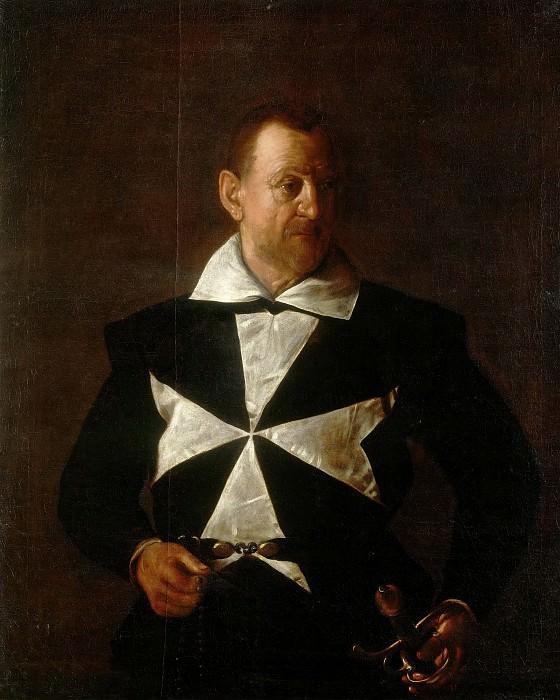 Antonio Martelli, Cavaliere di Malta. Michelangelo Merisi da Caravaggio
