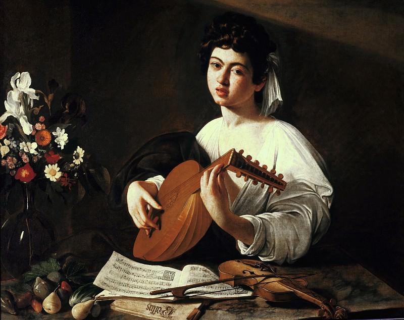 Lute Player. Michelangelo Merisi da Caravaggio