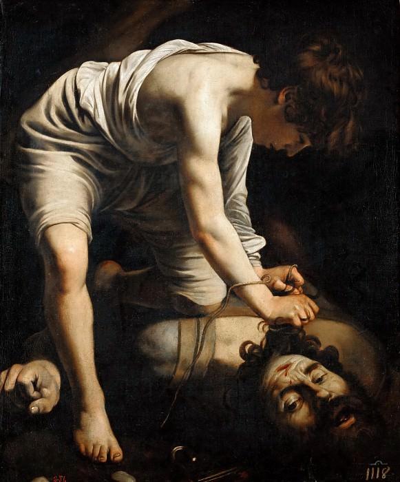 David and Goliath. Michelangelo Merisi da Caravaggio