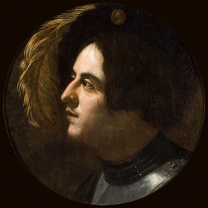 Portrait of a Young Man. Michelangelo Merisi da Caravaggio (School of)