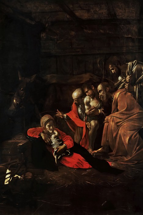 Adoration of the Shepherds. Michelangelo Merisi da Caravaggio