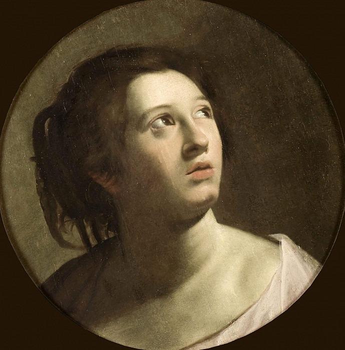 Young Woman. Michelangelo Merisi da Caravaggio (School of)