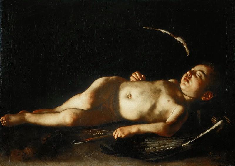 Sleeping Cupid. Michelangelo Merisi da Caravaggio