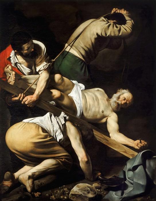 The Martyrdom of Saint Peter. Michelangelo Merisi da Caravaggio
