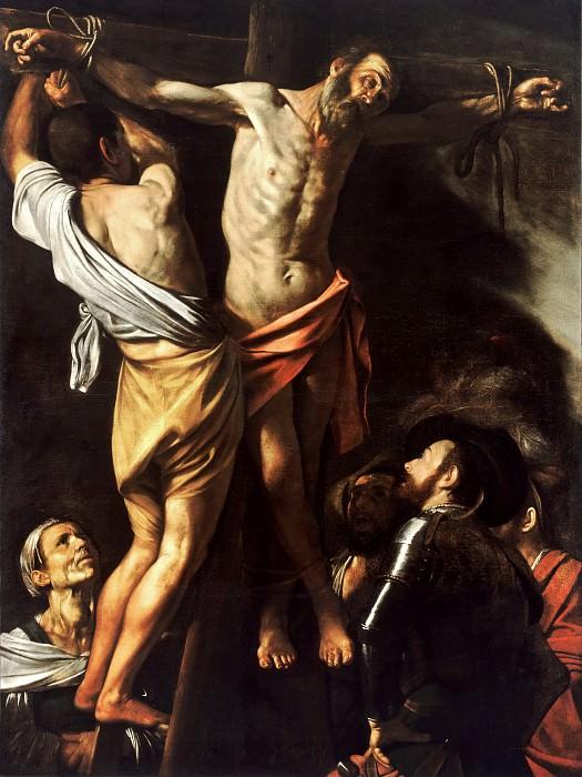 Crucifixion of Saint Andrew. Michelangelo Merisi da Caravaggio