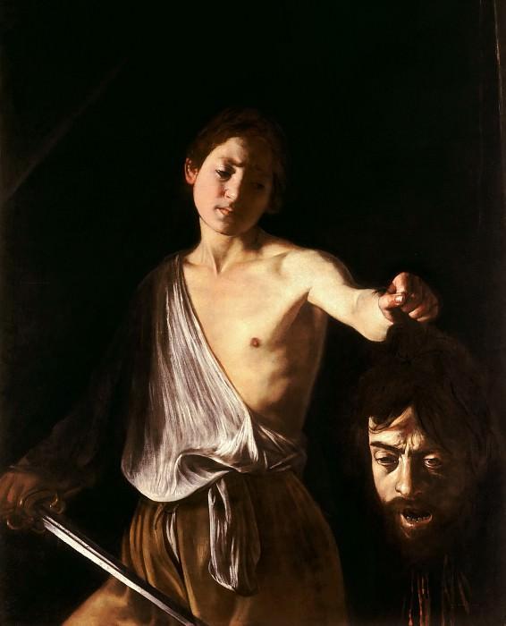 David with the Head of Goliath. Michelangelo Merisi da Caravaggio