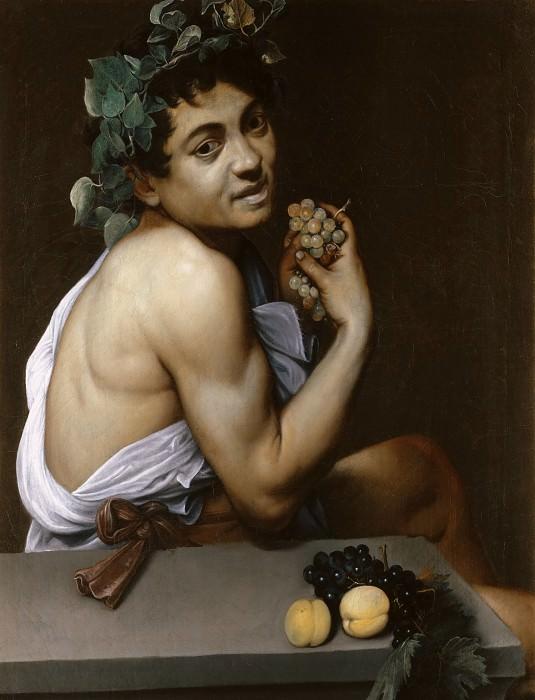 Young Sick Bacchus. Michelangelo Merisi da Caravaggio