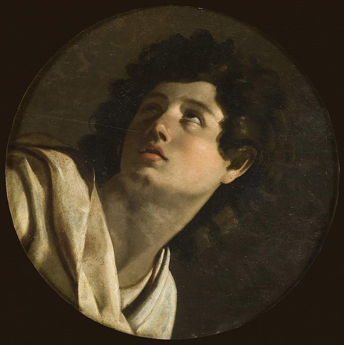 Portrait of a Young Man. Michelangelo Merisi da Caravaggio (School)