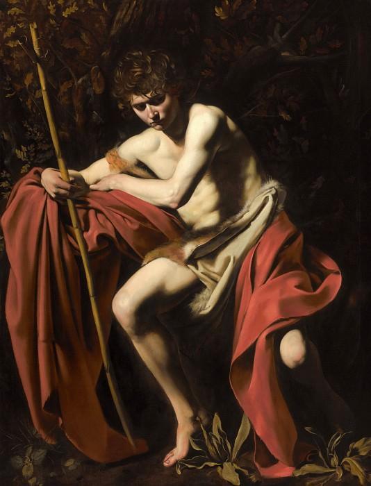 John the Baptist. Michelangelo Merisi da Caravaggio