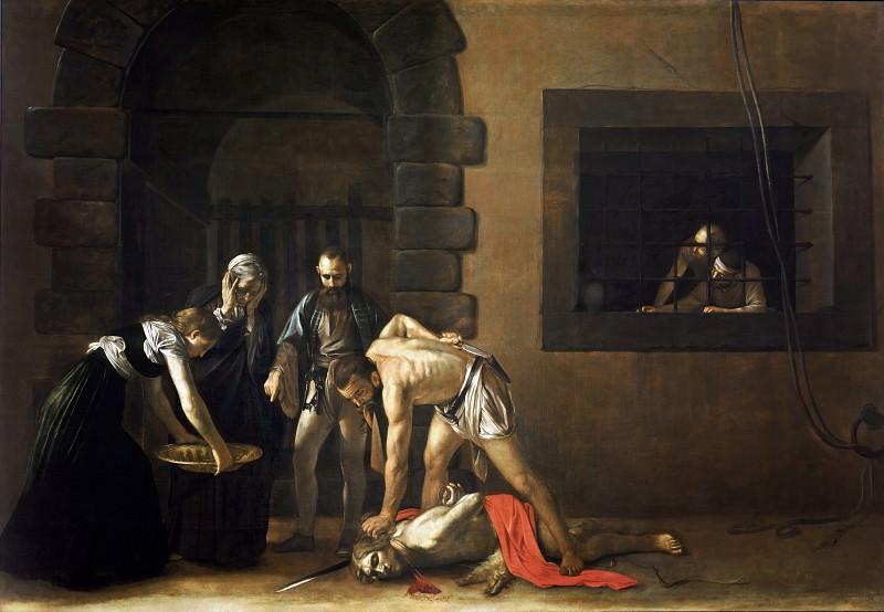 Beheading of Saint John the Baptist. Michelangelo Merisi da Caravaggio