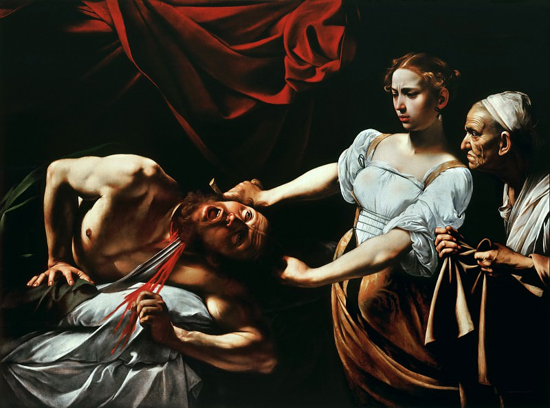 Judith and Holofernes. Michelangelo Merisi da Caravaggio