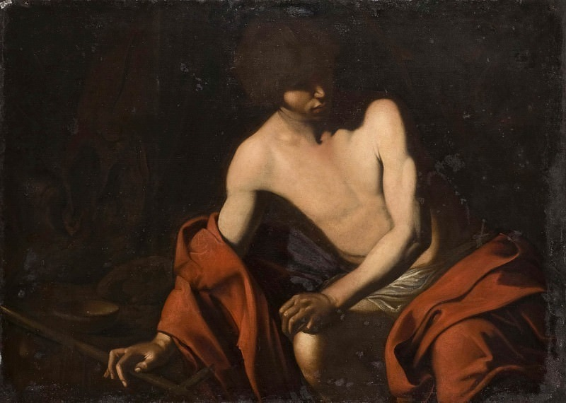 St. John the Baptist. Michelangelo Merisi da Caravaggio (After)