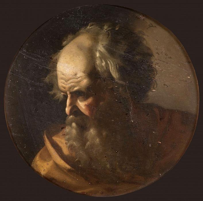 Head of an Apostle. Michelangelo Merisi da Caravaggio (School of)
