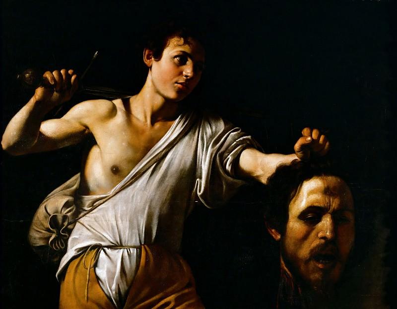 Давид c головой Голиафа. Микеланджело Меризи да Караваджо