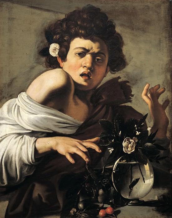 Boy Bitten by a Lizard. Michelangelo Merisi da Caravaggio