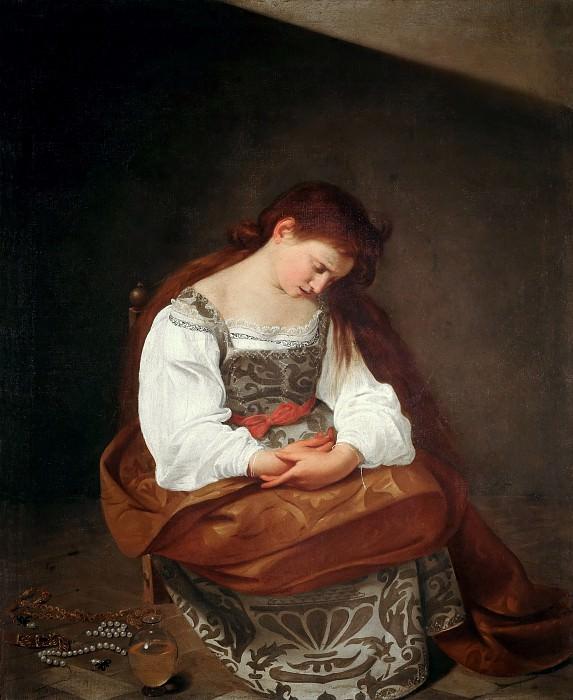 Penitent Magdalene. Michelangelo Merisi da Caravaggio