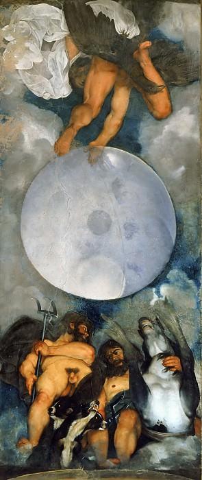 Jupiter, Neptune and Pluto. Michelangelo Merisi da Caravaggio