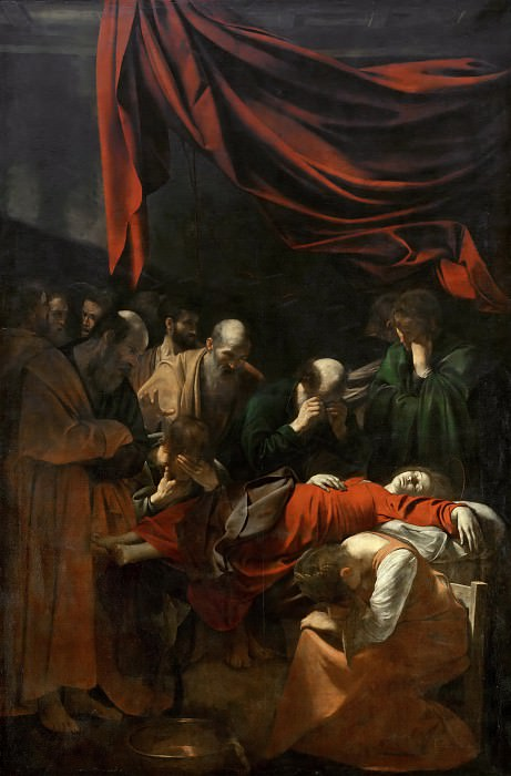 Death of the Virgin. Michelangelo Merisi da Caravaggio