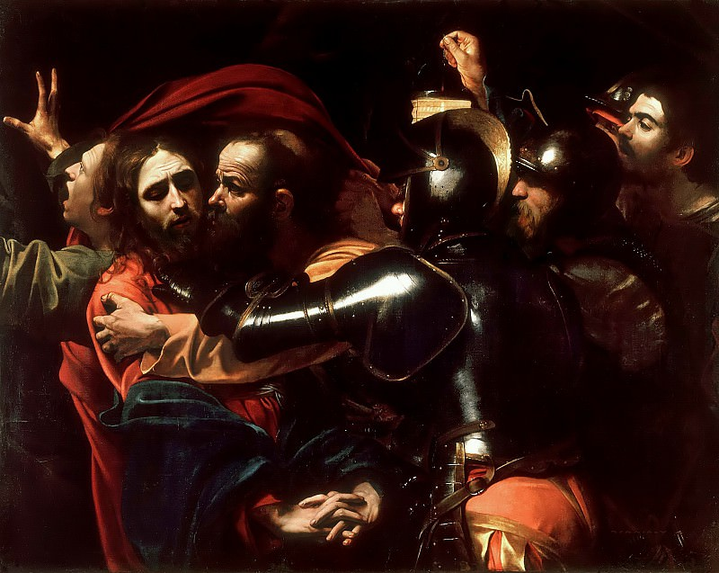 Taking of Christ (attr.). Michelangelo Merisi da Caravaggio