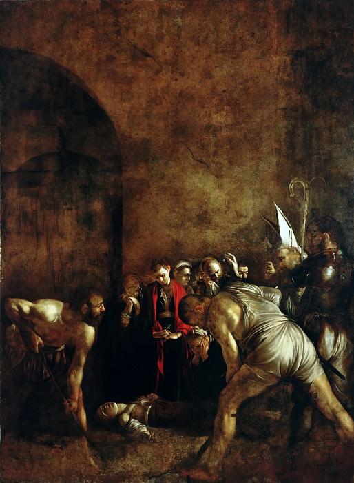 Погребение cвятой Лючии. Микеланджело Меризи да Караваджо