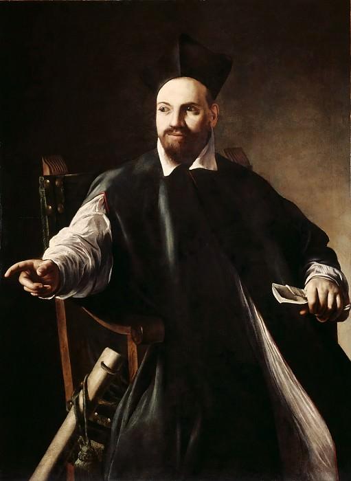 Portrait of Maffeo Barberini. Michelangelo Merisi da Caravaggio