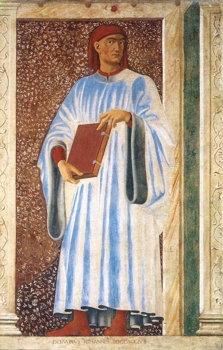 Famous Persons Giovanni Boccaccio. Andrea Del Castagno