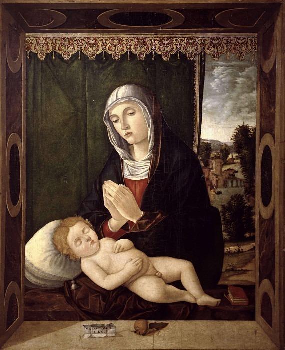 Мадонна с младенцем. Бартоломео Камполонго