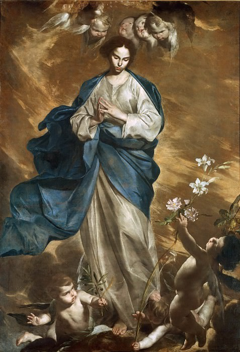 Immaculate Conception. Bernardo Cavallino
