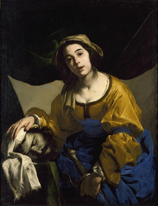 Judith with the Head of Holofernes. Bernardo Cavallino