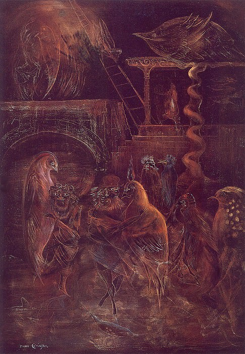 Jacobs Ladder. Leonora Carrington