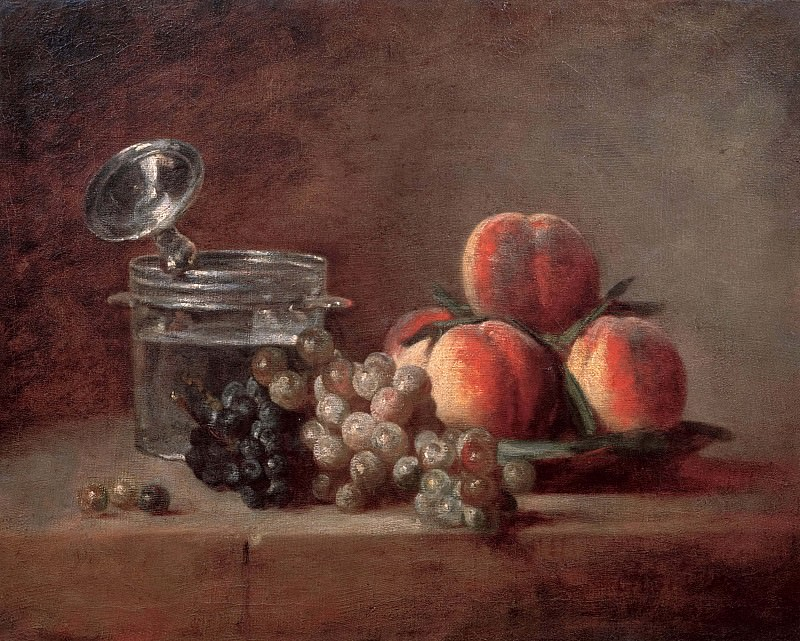 The Crystal Bowl. Jean Baptiste Siméon Chardin