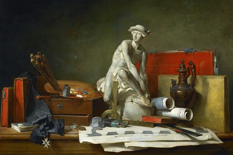 The Attributes of the Arts and the Rewards Which Are Accorded Them. Jean Baptiste Siméon Chardin