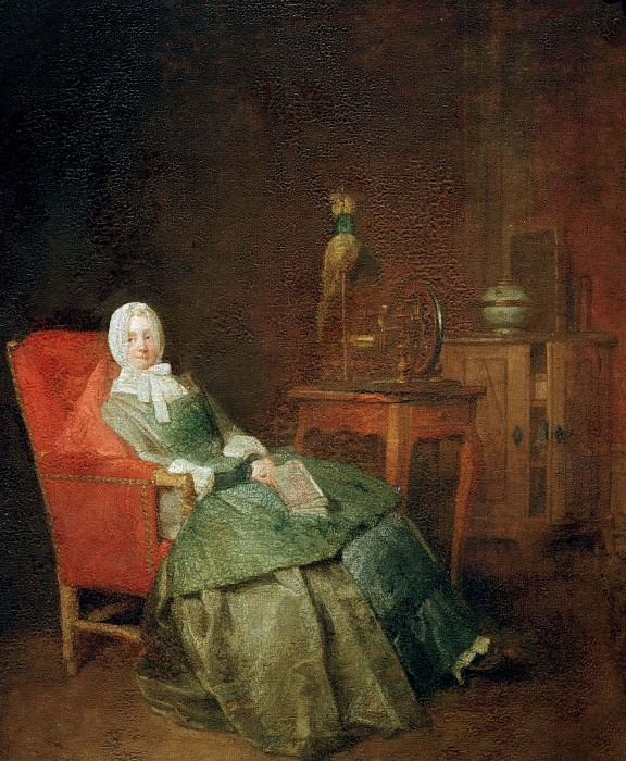 The pleasures of private life. Jean Baptiste Siméon Chardin