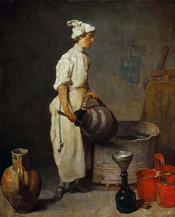 The Waiter. Jean Baptiste Siméon Chardin