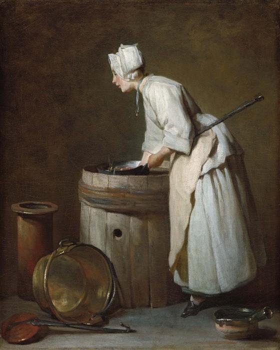 Посудомойка. Жан-Батист Симеон Шарден
