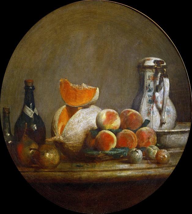 Melon. Jean Baptiste Siméon Chardin