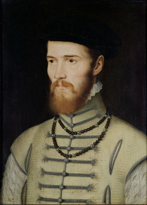 Портрет мужчины, возможно, Дон Джон Австрийский (1547-78). Франсуа Клуэ
