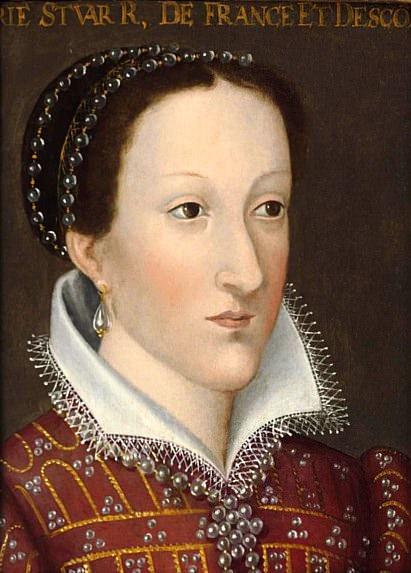 Portrait of Mary Queen of Scots. Francois Clouet