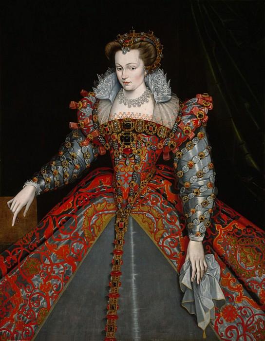 Portrait of Louise de Lorraine. Francois Clouet