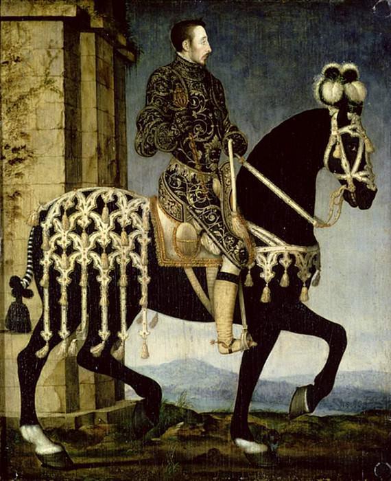 Генрих II, Король Франции (1519-1559). Франсуа Клуэ