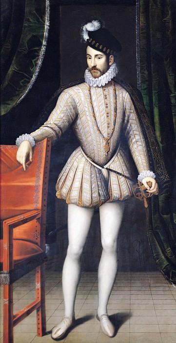 Карл IX (1550-1574) Король Франции. Франсуа Клуэ