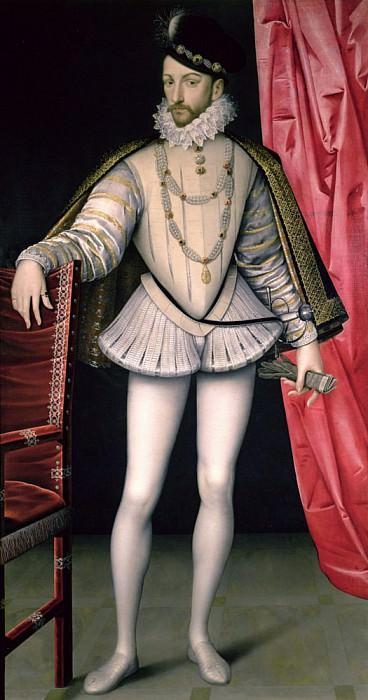 Карл IX (1550-1574). Франсуа Клуэ