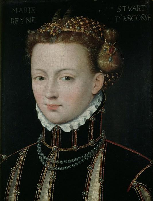 Mary Stuart (1542-1587). Francois Clouet