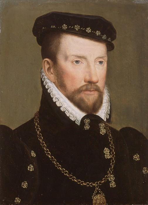 Admiral Gaspard II de Coligny. Francois Clouet
